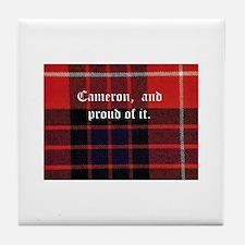 cameron tarton Tile Coaster