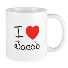 I heart love Jacob Black Twilight coffee cup Mug