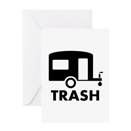 trailer trash Greeting Card