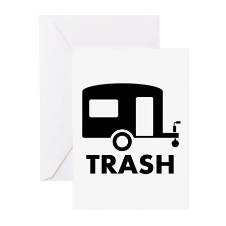 trailer trash Greeting Cards (Pk of 20)