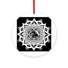 Ancient Celestial Ornament (Round)