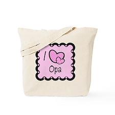 I Love Opa Tote Bag