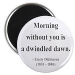 """Emily Dickinson 13 2.25"""" Magnet (100 pack)"""