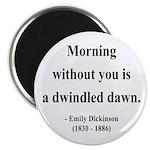 """Emily Dickinson 13 2.25"""" Magnet (10 pack)"""