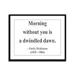 Emily Dickinson 13 Framed Panel Print