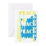 Words of PEACE Greeting Cards (Pk of 10)