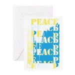 Words of PEACE Greeting Card
