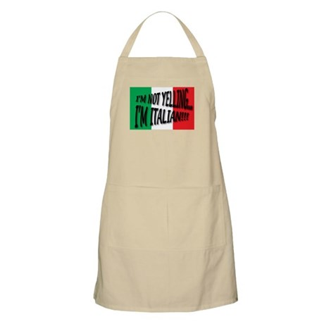 I'm Not Yelling Apron