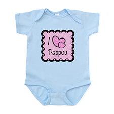 I Love Pappou Infant Bodysuit