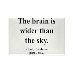 Emily Dickinson 14 Rectangle Magnet (100 pack)