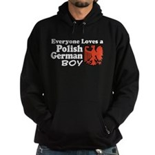 Polish German Boy Hoodie