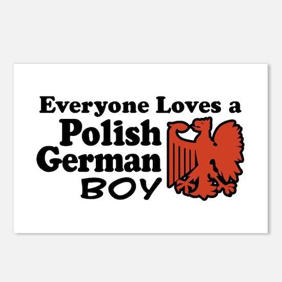 Polish German Boy Postcards (Package of 8)