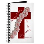 Easter Cross with Rose Swag Journal