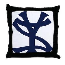 Cute Yankees Throw Pillow