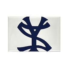 Unique Yankees suck logo Rectangle Magnet