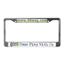 Magazine License Plate Frame