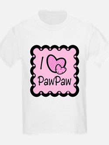I Love PawPaw T-Shirt