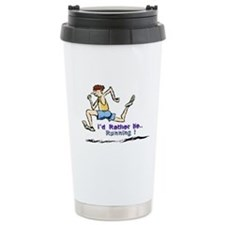 I'd Rather Be Running Travel Mug