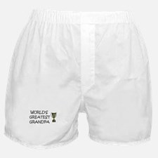 Cute World%27s greatest papi Boxer Shorts