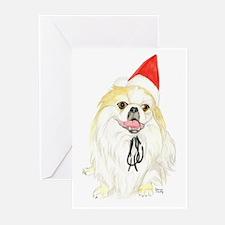 Pekingese Christmas Greeting Cards (Pk of 10)