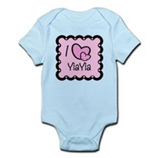 I Love YiaYia Infant Bodysuit