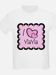 I Love YiaYia T-Shirt
