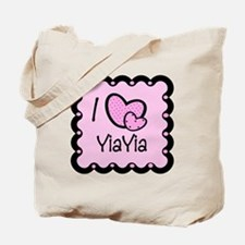 I Love YiaYia Tote Bag