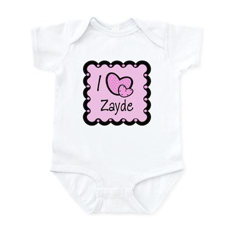 I Love Zayde Infant Bodysuit
