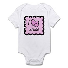 I Love Zayde Infant Bodysuit