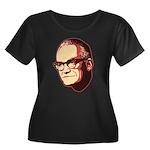 Goldwater Women's Plus Size Scoop Neck Dark T-Shir