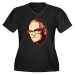 Goldwater Women's Plus Size V-Neck Dark T-Shirt