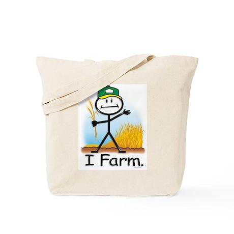 Wheat Farmer Tote Bag