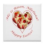 Easter Tulips Tile Coaster