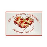 Easter Tulips Rectangle Magnet (100 pack)