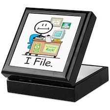 CPA I File Keepsake Box