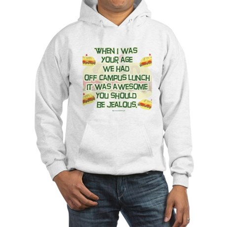 Off Campus Lunch Hooded Sweatshirt