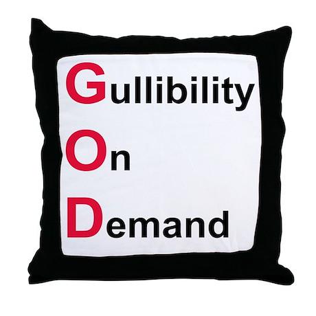 GOD the Acronym Throw Pillow