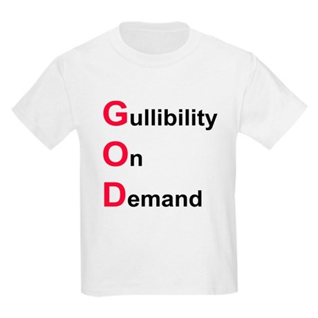 GOD the Acronym Kids Light T-Shirt