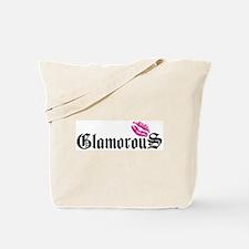 Glamorous Kiss Tote Bag