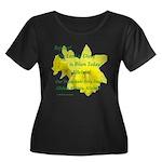 Daffodils, Rejoice Women's Plus Size Scoop Neck Da