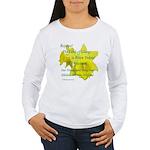 Daffodils, Rejoice Women's Long Sleeve T-Shirt