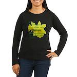 Daffodils, Rejoice Women's Long Sleeve Dark T-Shir