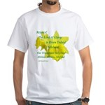 Daffodils, Rejoice White T-Shirt