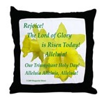 Daffodils, Rejoice Throw Pillow