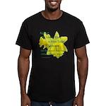 Daffodils, Rejoice Men's Fitted T-Shirt (dark)