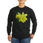 Daffodils, Rejoice Long Sleeve Dark T-Shirt