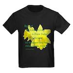 Daffodils, Rejoice Kids Dark T-Shirt