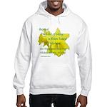 Daffodils, Rejoice Hooded Sweatshirt