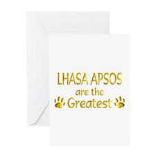 Lhasa Apso Greeting Card