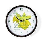 Daffodils, Rejoice Wall Clock